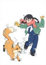 連続テレビ小説『なつぞら』第6週「なつよ、雪原に愛を叫べ」(C)ササユリ・NHK
