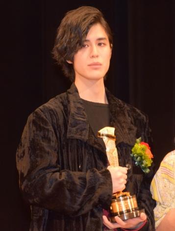 『2018年 第92回キネマ旬報ベスト・テン』表彰式に出席した寛一郎 (C)ORICON NewS inc.