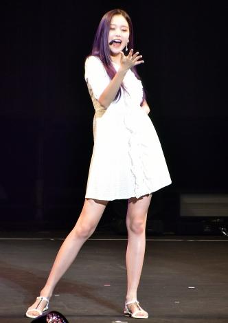 チャン・ウォニョン=『IZ*ONE JAPAN 1st Fan Meeting』「プライベートファッションショー」 (C)ORICON NewS inc.