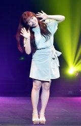 矢吹奈子=『IZ*ONE JAPAN 1st Fan Meeting』「プライベートファッションショー」 (C)ORICON NewS inc.