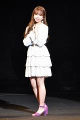 チョ・ユリ=『IZ*ONE JAPAN 1st Fan Meeting』「プライベートファッションショー」 (C)ORICON NewS inc.