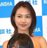 『ミスマガジン2019』のベスト16に選ばれた白山瑠衣 (C)ORICON NewS inc.