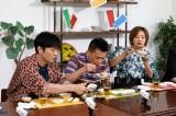 25日放送の『KinKi Kidsのブンブブーン ご飯のおともは オレコレ!SP』に出演する森山直太朗、柳沢慎吾、夏菜(C)フジテレビ