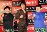 (左から)たくや、武田真治、かずや (C)ORICON NewS inc.