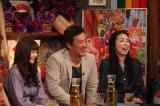 9日放送『アウト×デラックス』に出演する(左から)戦慄かなの、大鶴義丹、高橋ひとみ(C)フジテレビ