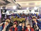 メジャーデビューシングル「メジャーボーイ」発売記念イベントを開催したCUBERS