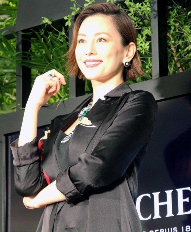 『Live your life at 26 Place Vendome』記者発表会に出席した米倉涼子 (C)ORICON NewS inc.