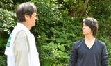 『インハンド』第5話に出演する時任三郎、山下智久 (C)TBS