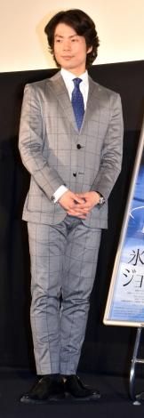 映画『氷上の王、ジョン・カリー』のジャパンプレミアに参加した町田樹 (C)ORICON NewS inc.