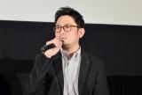 映画『氷上の王、ジョン・カリー』のジャパンプレミアに参加した宮本賢二氏