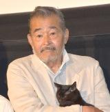 映画『初恋〜お父さん、チビがいなくなりました〜』の公開初日舞台あいさつに登壇した藤竜也 (C)ORICON NewS inc.