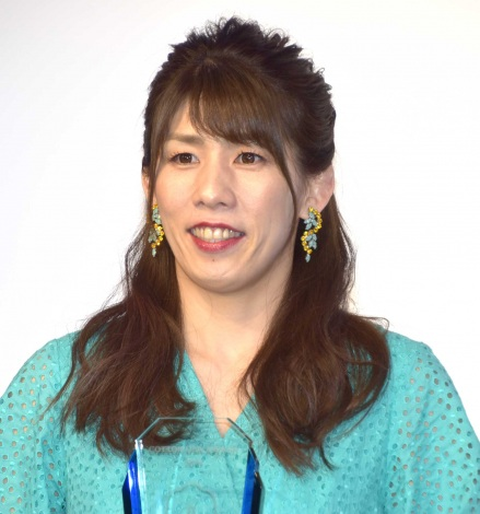 『COTTON USA AWARD 2019』を受賞した吉田沙保里 (C)ORICON NewS inc.