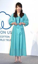 『COTTON USA AWARD 2019』を受賞した吉田沙保里 (C)ORICON NewS inc.