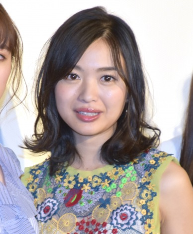 ホラー映画『としまえん』の公開初日舞台あいさつに参加した北原里英 (C)ORICON NewS inc.