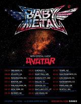 BABYMETALがUSツアーを発表