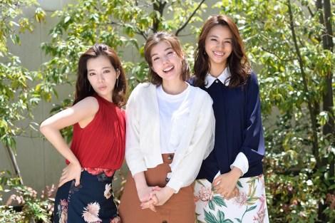 仲里依紗、高橋メアリージュン、桜井ユキ