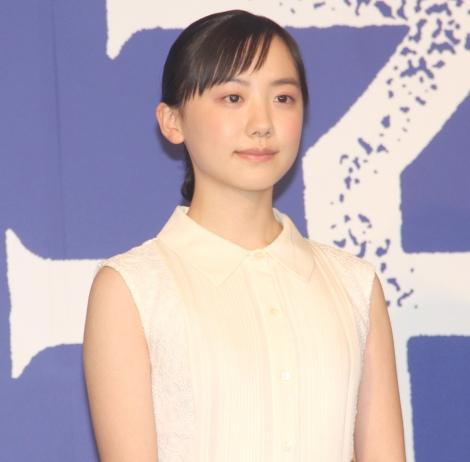 アニメ映画『海獣の子供』の完成報告会見に出席した芦田愛菜 (C)ORICON NewS inc.