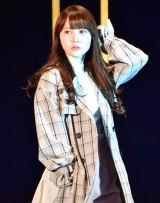 『マイナビ presents 第28回 東京ガールズコレクション 2019 SPRING/SUMMER』に初出演した日向坂46・加藤史帆 (C)ORICON NewS inc.