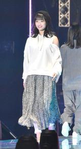 『マイナビ presents 第28回 東京ガールズコレクション 2019 SPRING/SUMMER』に初出演した日向坂46・濱岸ひより (C)ORICON NewS inc.