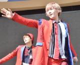 メジャーデビューシングル「メジャーボーイ」の発売記念イベントを行ったCUBERS・春斗 (C)ORICON NewS inc.
