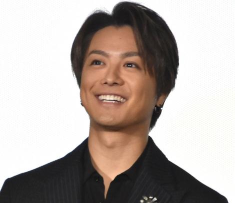 映画『僕に、会いたかった』公開記念舞台あいさつに登壇したTAKAHIRO (C)ORICON NewS inc.
