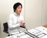インタビューに応じる岸本斉史氏 (C)ORICON NewS inc.