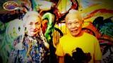 5月15日放送、『クレイジージャーニー』に登場する87歳の前衛美術家・篠原有司男さんと65歳の妻・乃り子さん夫妻(C)TBS