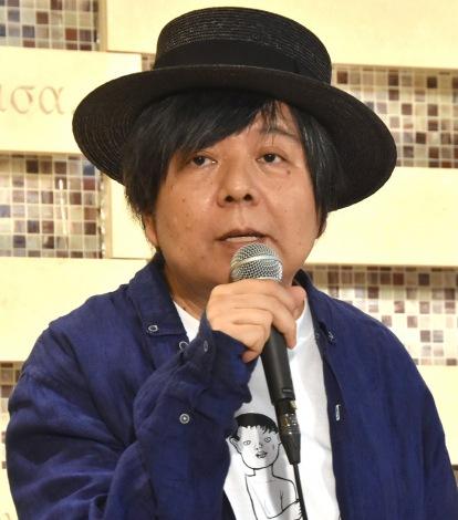 舞台『フローズン・ビーチ』の製作発表会見に出席したKERA (C)ORICON NewS inc.