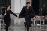 木曜劇場『ストロベリーナイト・サーガ』第7、8話に出演する(左から)二階堂ふみ・山本耕史 (C)フジテレビ