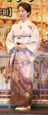 映画『長いお別れ』舞台あいさつに登壇した松原智恵子 (C)ORICON NewS inc.