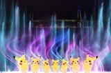 赤レンガパークで行われるピカチュウのパフォーマンス