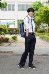 FBS開局50周年スペシャルドラマ『博多弁の女の子はかわいいと思いませんか?』に出演する岡田健史 (C)FBS