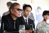 カンヌ映画祭は2年ぶり7回目、[監督週間]には4年ぶり3回目の選出となった三池崇史監督(左)(C) Kazuko Wakayama
