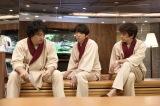 土曜ナイトドラマ『東京独身男子』後半は独身リスクに直面するAK男子たちを描く。太郎(高橋一生)、三好(斎藤工)、岩倉(滝藤賢一)がそろって人間ドックを訪れるシーンも登場(C)テレビ朝日