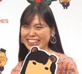 よしもとゲームズ新作タイトル発表会見に出席した尼神インター・誠子 (C)ORICON NewS inc.