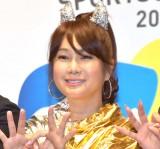 『SPORTS of HEART 2019』記者発表会に参加したはるな愛 (C)ORICON NewS inc.