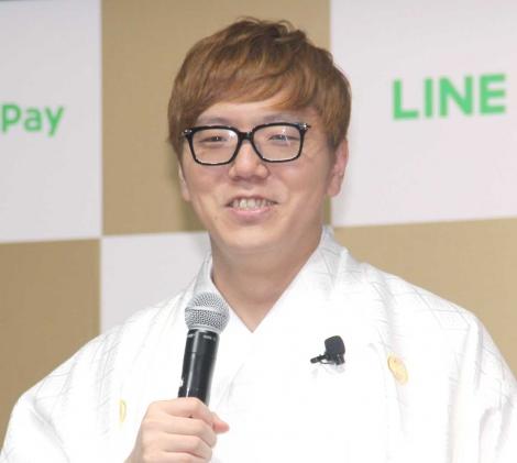 太っ腹と「言われたことない」と明かしたHIKAKIN=『LINE・LINE Pay』記者発表会 (C)ORICON NewS inc.
