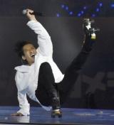 横浜DeNAベイスターズ対中日ドラゴンズ戦後にスペシャルライブを開催した大沢樹生 (C)ORICON NewS inc.