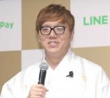 『LINE・LINE Pay』記者発表会に出席したHIKAKIN (C)ORICON NewS inc.