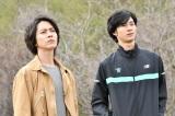 金曜ドラマ『インハンド』に出演する(左から)山下智久、清原翔 (C)TBS