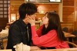 水曜ドラマ『白衣の戦士!』で小瀧望(ジャニーズWEST)と中条あやみがキス…? (C)日本テレビ