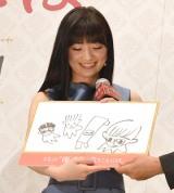 映画『うちの執事が言うことには』の公開記念舞台あいさつに登壇した優希美青 (C)ORICON NewS inc.