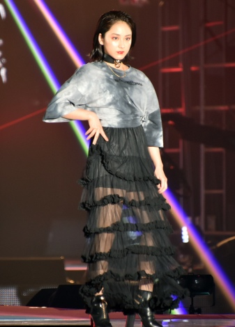 『Rakuten GirlsAward 2019 SPRING/SUMMER』に登場した平祐奈 (C)ORICON NewS inc.