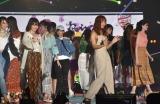『Rakuten GirlsAward 2019 SPRING/SUMMER』フィナーレの模様 (C)ORICON NewS inc.