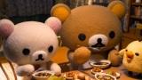 Netflixオリジナルシリーズ『リラックマとカオルさん』食事シーンにも注目(C)2019 San-X Co., Ltd. All Rights Reserved.