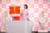 """『エンジェルハート』""""浴衣に似合う時計""""第1位獲得発表イベントに出席した吉岡里帆"""