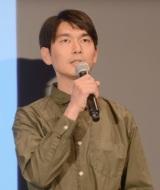 映画『海獣の子供』ワールドプレミア上映会に出席した秋本賢一郎氏 (C)ORICON NewS inc.