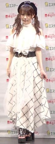 ミュージカル『赤毛のアン』2019制作記者発表会に出席した田中れいな (C)ORICON NewS inc.