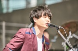 Official髭男dism ベースの楢崎誠 (c)Seiya Uehara