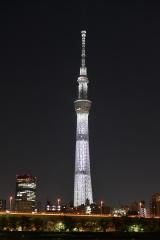 『白い巨塔』オリジナルカラーのスカイツリー(C)テレビ朝日